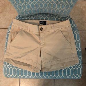 American Eagle 🦅 Tan Shorts